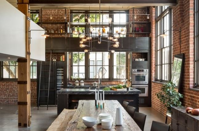 Industrial Themed Interior Design