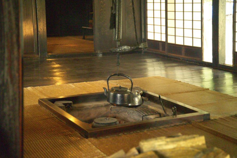 unique japanese themed open plan interior design with sunken area