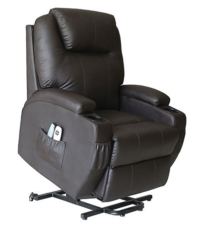 Action Club Deluxe Wall Hugger Recliner Chair