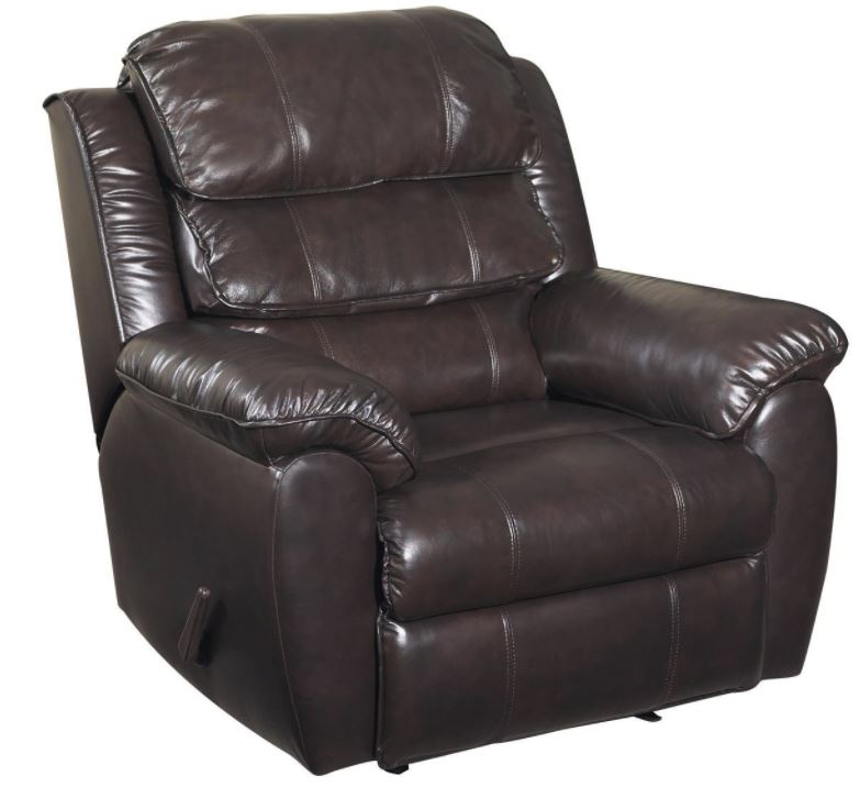 warren recliner leather chair