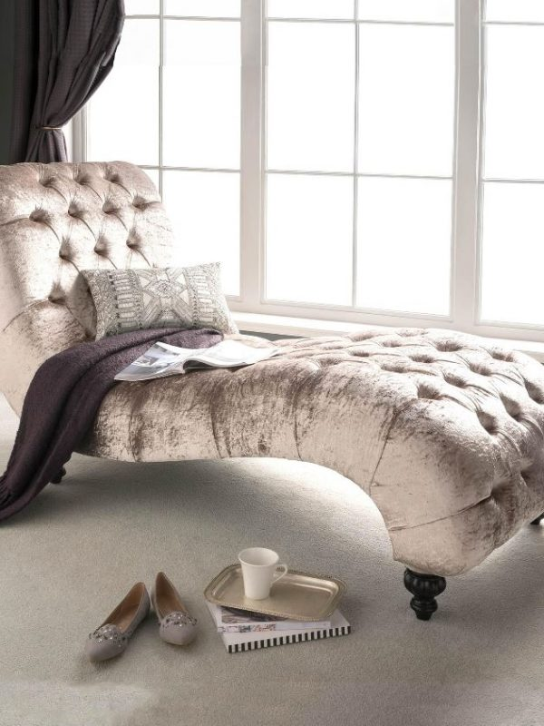 Homes Direct 365 Antique French Style Chaise Lounge