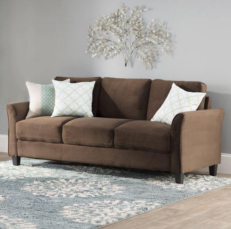 Charlton Home Patricia Rolled Arm Sofa