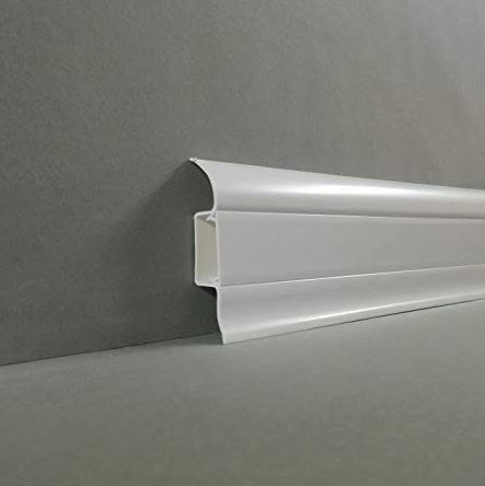 plastic skirting board covers with pipe cable duct