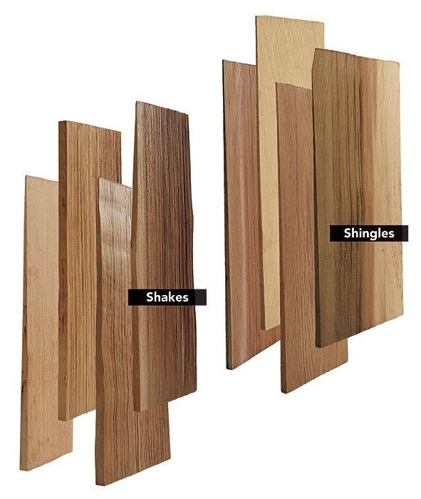 Wood Shake Vs Wood Shingles