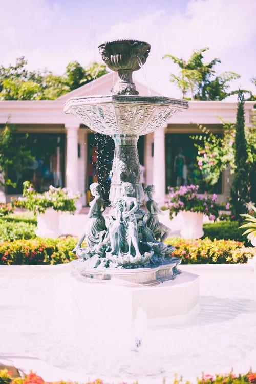 figurine water fountain