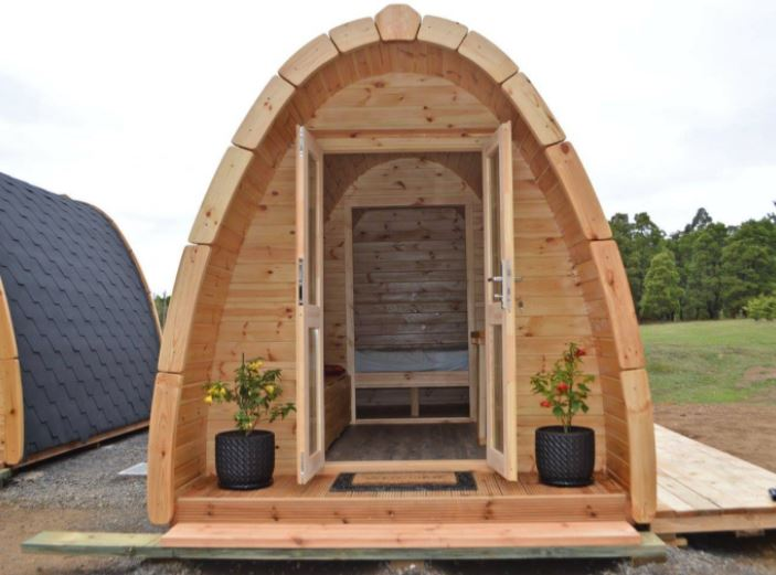 Arched Cabin